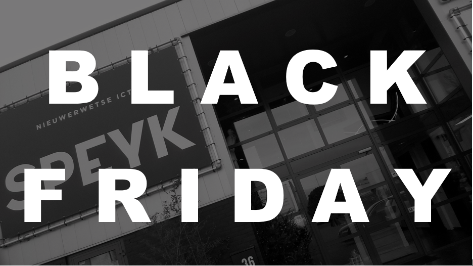 Black Friday bij SPEYK